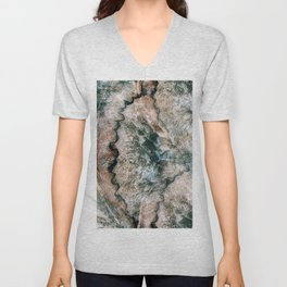 Agate Abstract Unisex V-Neck