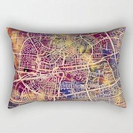 Leeuwarden Netherlands City Map Rectangular Pillow