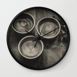 feline magic realism Wall Clock