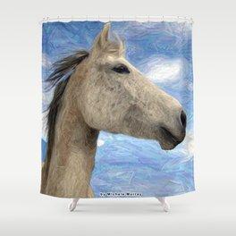 Sparkle the Arabian Mare Shower Curtain