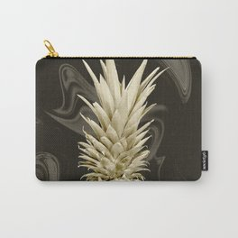 Golden Pineapple Marble Carry-All Pouch