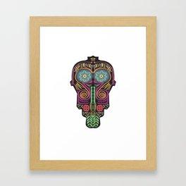 Maska Shmaska Framed Art Print