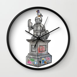 Forever Young Monument Wall Clock
