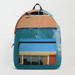 David Hockney exhibition Poster Print Backpack