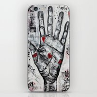writer iPhone & iPod Skins featuring palm writer by sladja