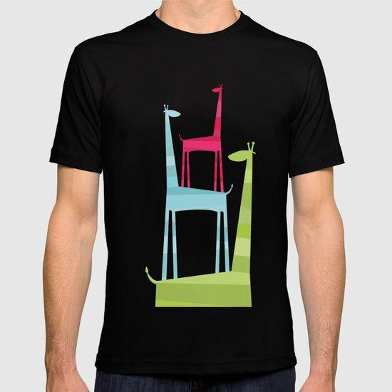Giraffe Trio T-shirt