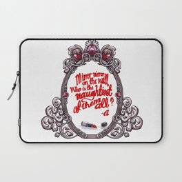 Who is the naughtiest of them all? Laptop Sleeve