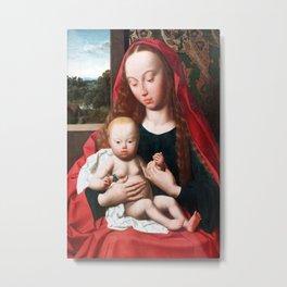 Geertgen tot Sint Jans - Virgin and Child Metal Print