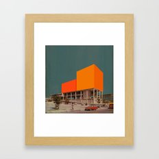Block 16 Framed Art Print