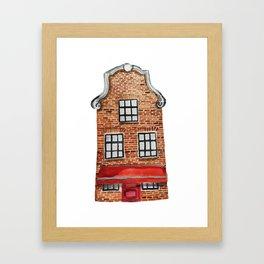 Dutch House Framed Art Print