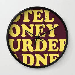 Blues Rock Wall Clock