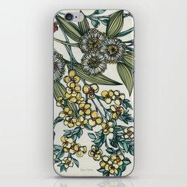 Australian Native Floral iPhone Skin