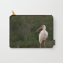 Heavenly White Ibis Carry-All Pouch