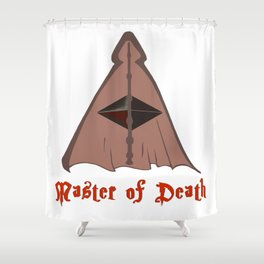 Master of death Shower Curtain