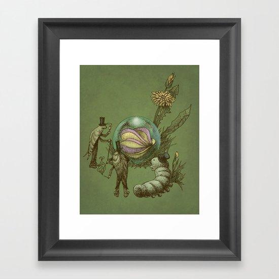 It Fell From The Sky  Framed Art Print