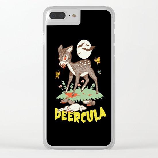 Deercula Clear iPhone Case