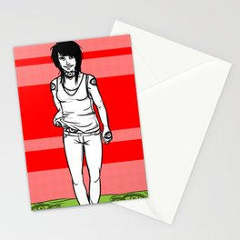 She Walks, We See Stationery Cards