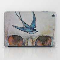 sparrow iPad Cases featuring Sparrow by Michael Creese