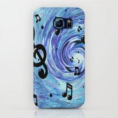 Musical Blue Galaxy S6 Slim Case