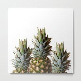 Pineapple Mountain Range Metal Print