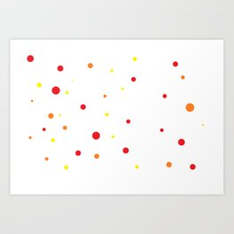 Dots IV. Art Print
