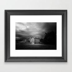 La Maison Framed Art Print