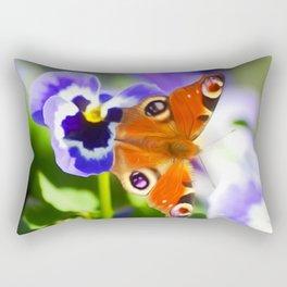 Butterfly Art For Animal Lover Rectangular Pillow