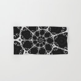 Dark Mandala #3 Hand & Bath Towel