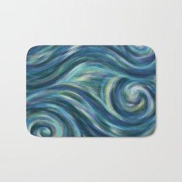 Gogh with the flow Bath Mat