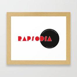 RAPSODIA Framed Art Print