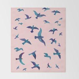 Birds II Throw Blanket