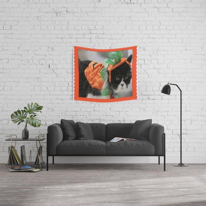 Pumpkin Humphries Wall Tapestry
