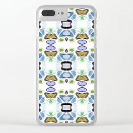 Sea Glass 21C Clear iPhone Case