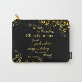 An Ember in The Ashes Quote Design Carry-All Pouch