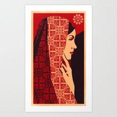 ASIANWOMAN II Art Print