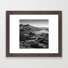 When i was a Falcon Framed Art Print