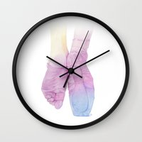 ballet Wall Clocks featuring Ballet by Nuria Galceran