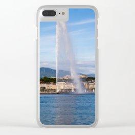 Jet d'Eau Clear iPhone Case