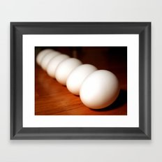 Six of One... Framed Art Print