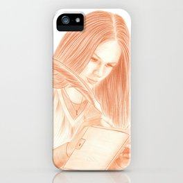 Dear Diary iPhone Case