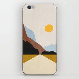 Minimal Art Landscape 9 iPhone Skin