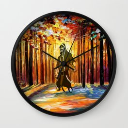 handsome art Wall Clock