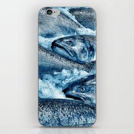 Market Fresh Salmon by Crow Creek Cool iPhone Skin