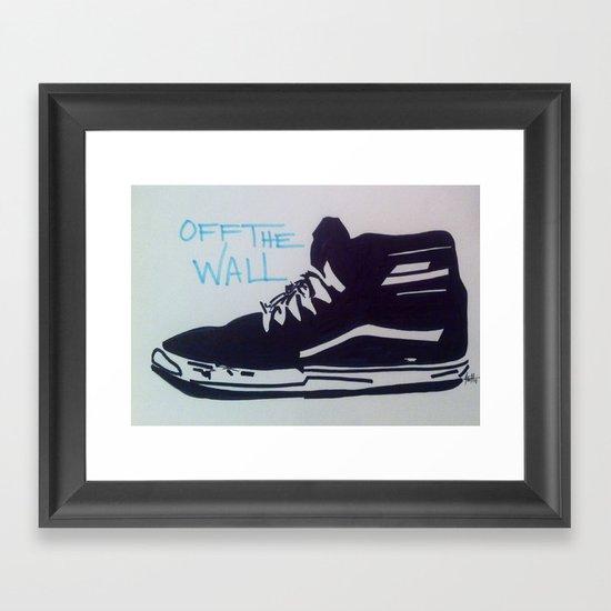 Off The Wall Framed Art Print
