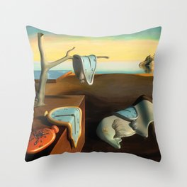 Persistence of Memory Throw Pillow