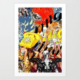 Chiamando Nazione Art Print