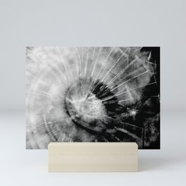 Pusteblume_abstrakt Mini Art Print