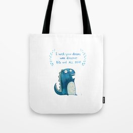 Postcard for your enemy Tote Bag
