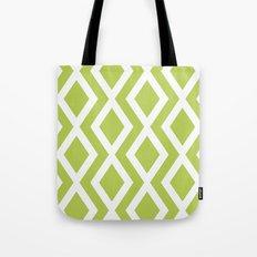 Lime Diamond Tote Bag
