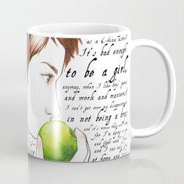 Jo March - Little Women Coffee Mug